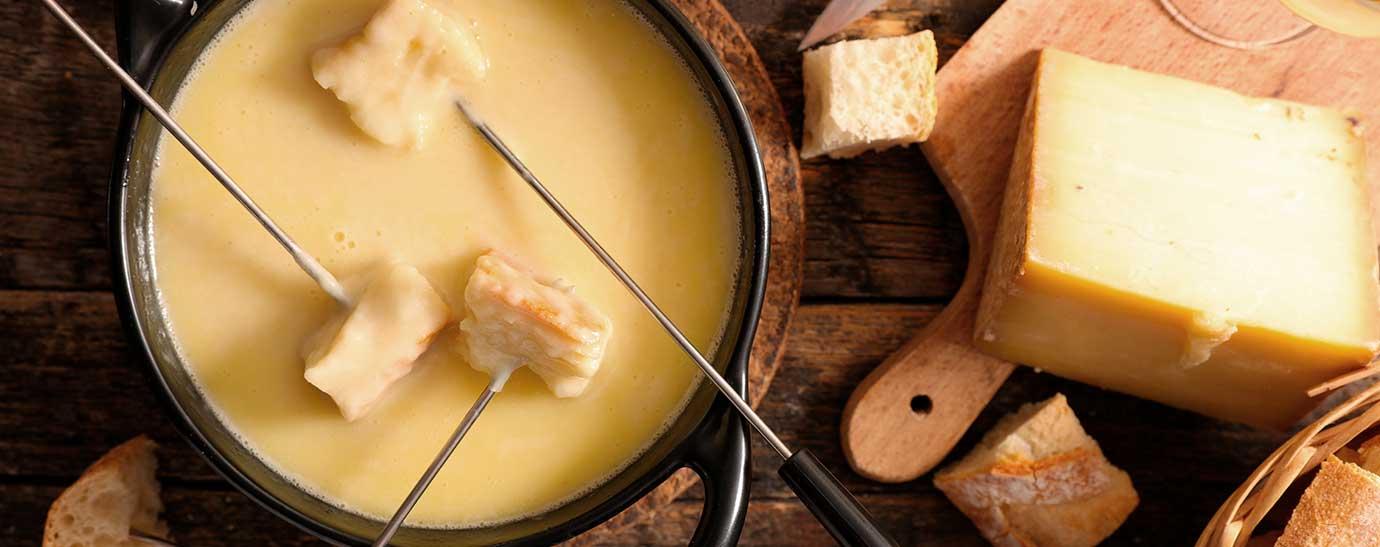 fonfue de queso con pan