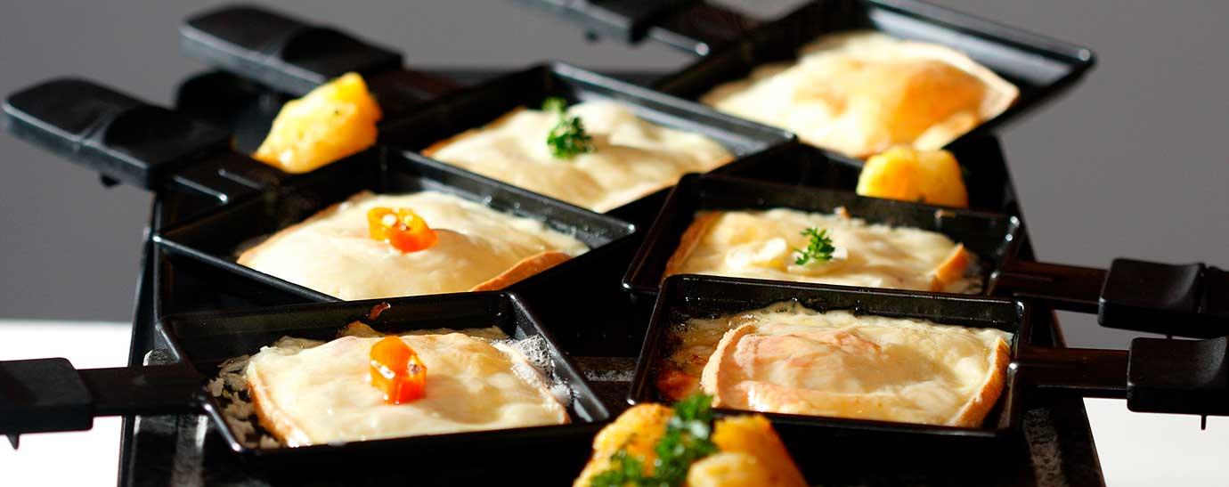 Preparación de raclette