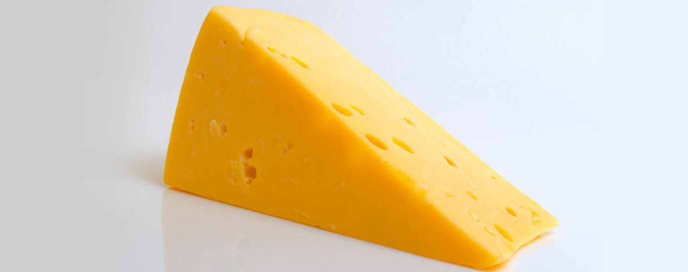 Cuña de queso double gloucester