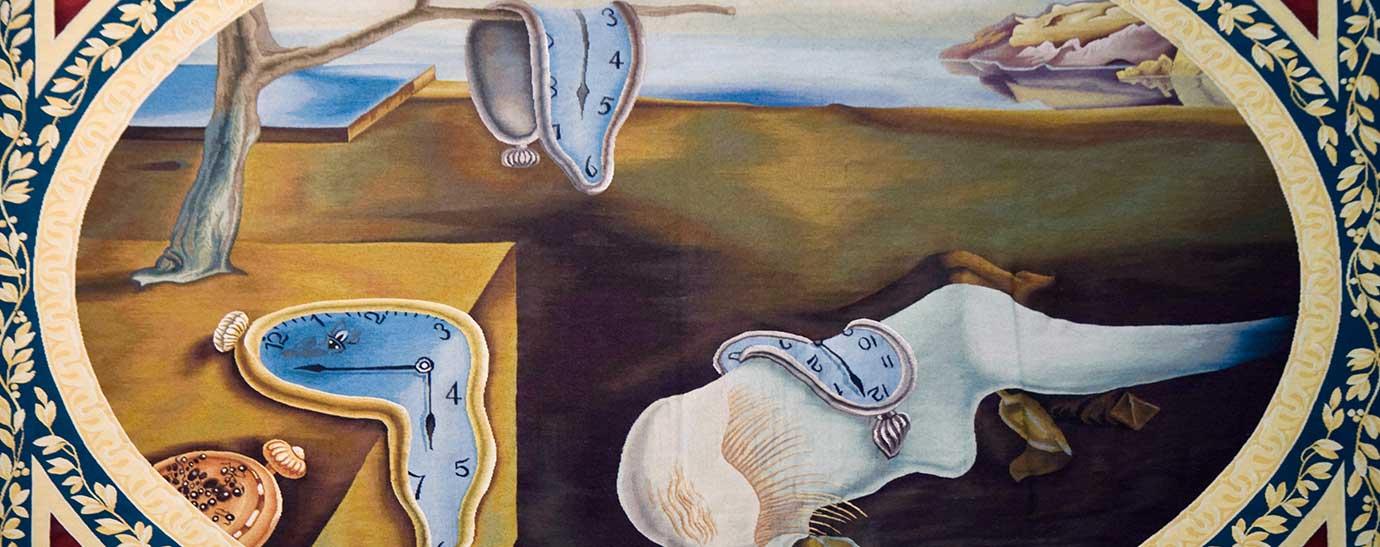 cuadro La persistencia de la memoria de Dalí
